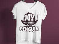 My Patronus Is A Penguin T Shirt Design