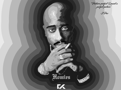 2pac Designs Themes Templates And Downloadable Graphic Elements On Dribbble