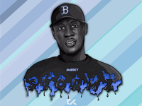 Stormzy Vector Art Portrait