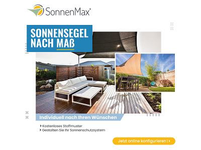 SonnenMax Banner Design concept creative advertisement logo illustration design bannerbazaar banner bazaar google ad banner creative banner banner social media banner