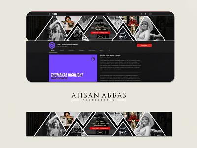 Ahsan Abbas Photography Banner Design photographer photography advertisement concept creative logo illustration design bannerbazaar banner bazaar google ad banner creative banner banner social media banner