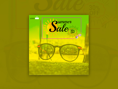 Summer sale - banner design