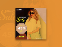 Glasses fashion - banner design