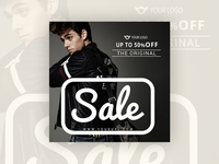 Original sale - banner design