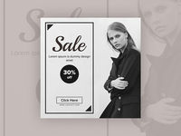 Sale - banner design