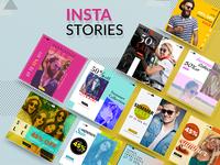 Insta Stories - banner design