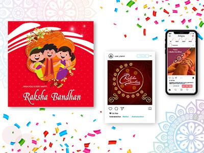 Raksha bandhan - banner design
