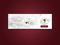 Peace Collection Banner Design