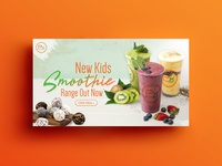 Smoothie Banner Design