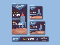 Cast 2019 Banner Design