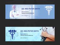 DR. Med Peter Smith Banner Design