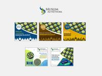Muslim Ad Network Banner Design