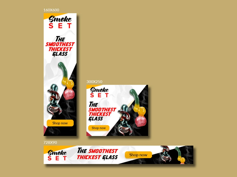 The Smoothest Thickest Glass smoke bannerbazaar banner banner design design sale google ad banner creative banner banner small cover banner bazaar social media banner