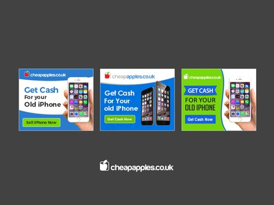 Cheapapples.co.uk Banner Design