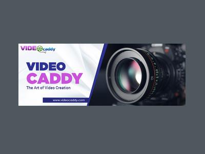 Video Caddy Banner Design