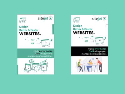 Site jet Banner Design