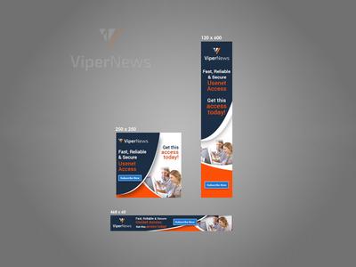Viper News Banner Design