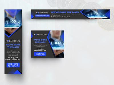 ICO DASHBOARD Banner Design
