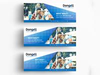 Dongell Banner Design