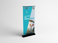 Peace Of Mind Roller Banner  Design
