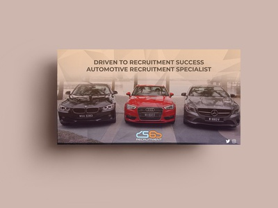 Driven Recruitment Banner Design