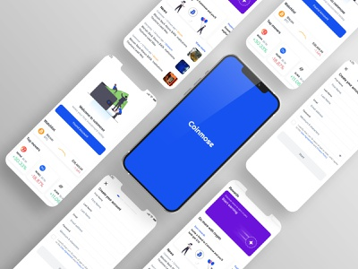 Cryptocurrency Trading App app design minimal business illustration design ui admin template admin dashboard dashboad crypto crypto currency cryptocurrency crypto wallet dashboard design dashboard app