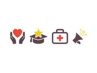 Hospital Icon set Design