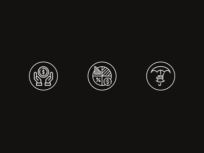 Currency Icon Set Design