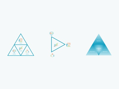 Triangle Curve Icons