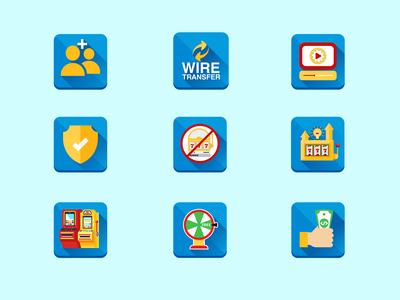 Wire Transfer Icon Design