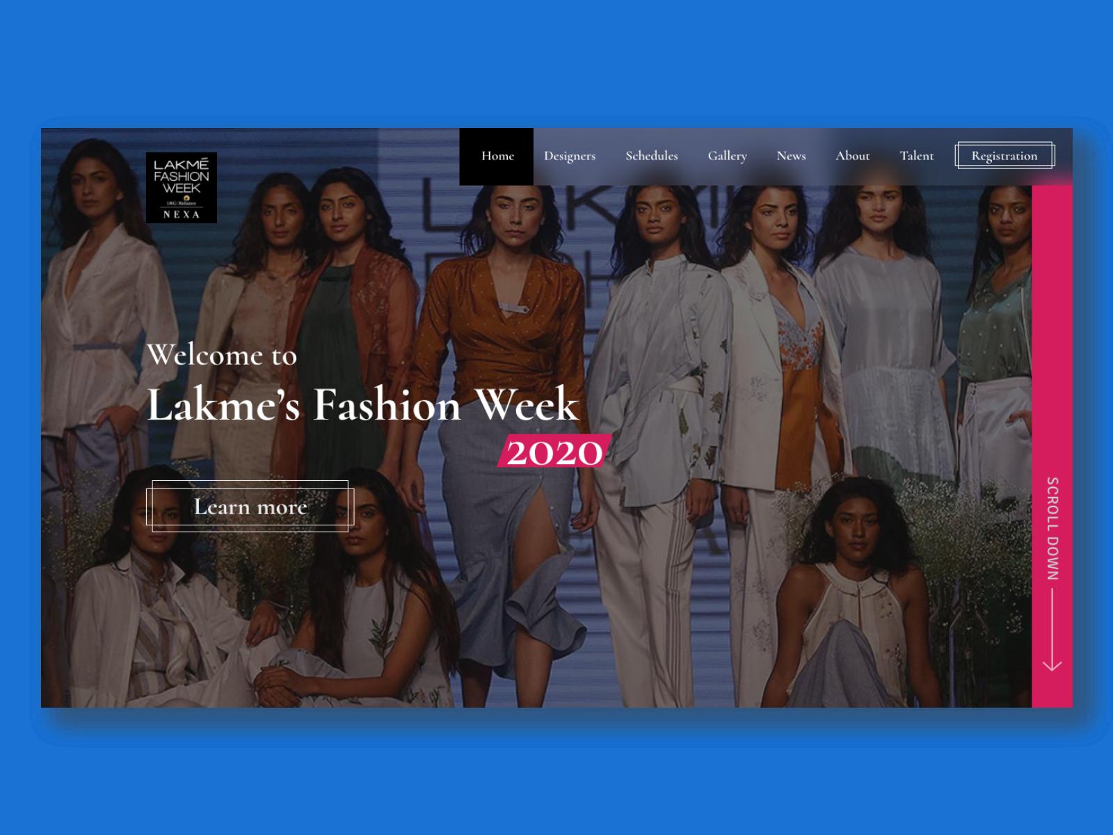 Lakme S Fashion Week By Rushabh Pathak On Dribbble