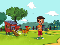 A scene from book about technology effects