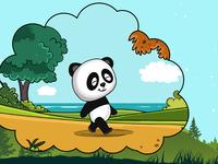 Mr Panda goes to .. ?