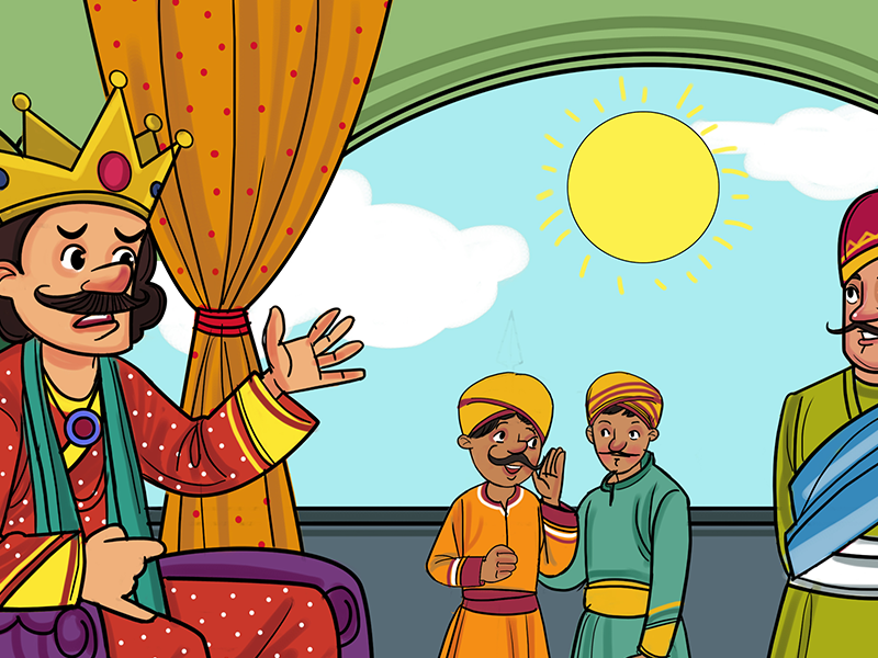 King's court-Moral stories in hindi