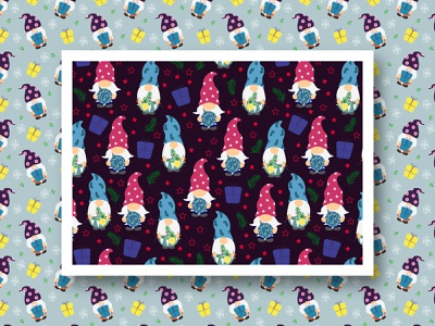 Winter Patterns set of winter patterns set of patterns christmas design winter design new year patterns new year pattern new year christmas christmas patterns winter patterns christmas set winter set gnomes multicolored-pattern a series of patterns