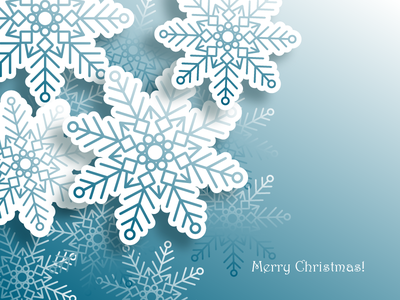 Christmas postcard happy new year 2020 new year snowflake snowfall snow blue snowflakes merrychristmas merry xmas postcard winter snowflakes