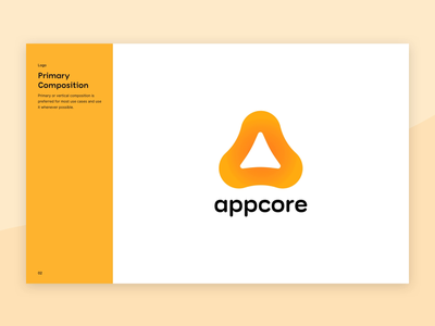 appcore - Brand Guidelines brand assets book manual identity guidelines brand branding