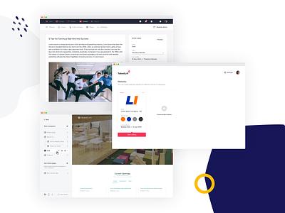 TalentLyft - Convert web app frontend builder website builder page builder software hr tool talentlyft convert