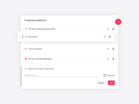 TalentLyft ATS - Form builder detail