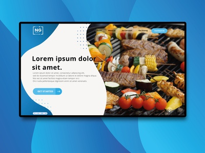Design Concept for a Catering Comapny