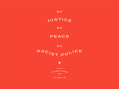 No Justice No Peace poster typography poster type black lives matter blm protest poster poster design type poster typography type design graphic design design