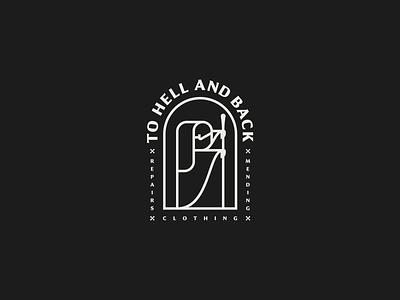 To Hell & Back identity brand identity branding logotype marks mark logo design logo graphic design design