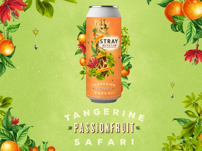 Stray Forth Tangerine Passionfruit Safari