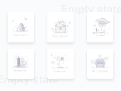 Empty state icon ui design illustration