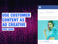 Use Customer Content as Creative