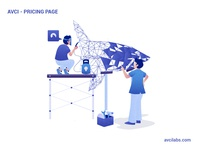 AVCI Labs | Pricing Page Illustration