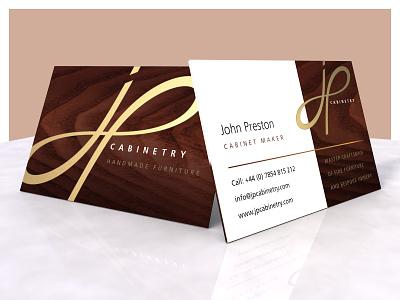John Preston Cabinetry 3d modeling logo design 3d artwork design logo branding