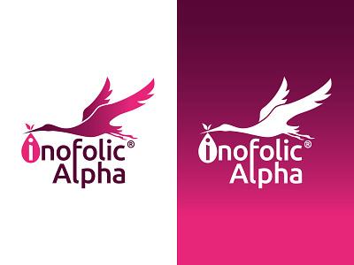 Inofolic Alpha branding rebrand logo design artwork typography design logo branding