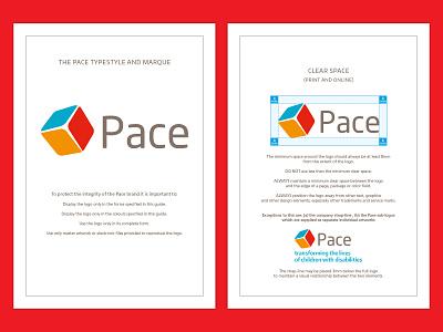 Pace Corporate Guidlines 1 vector rebrand logo design brand guidelines artwork logo branding