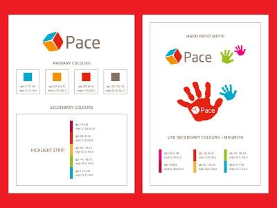 Pace Corporate Guidelines 2 rebrand logo design brand guidelines design logo branding